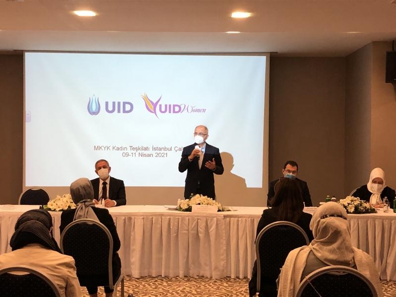 Bakan Efkan Ala UID çalıştayına katıldı.