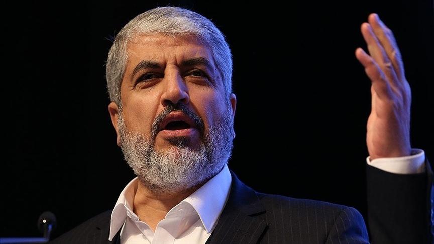 Eski Hamas lideri Meşal, İsrail'in Kudüs'teki saldırılarına karşı direniş çağrısı yaptı