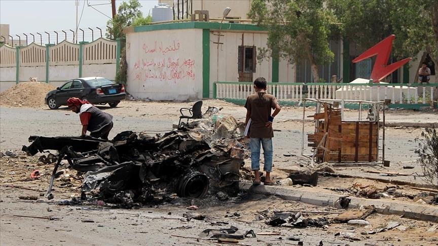 Yemen'deki patlamalarda 5 çocuk yaşamını yitirdi