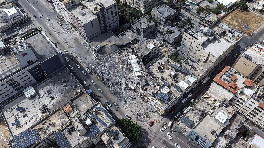 İsrail'in Gazze'ye düzenlediği saldırılarda can kaybı 254'e yükseldi