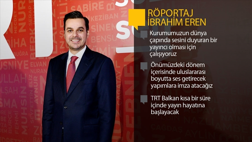 TRT Genel Müdürü Eren: TRT her zaman kendi ile yarışan bir yol çizerek başarıya ulaşmıştır