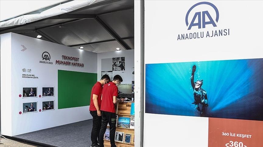 Anadolu Ajansı, TEKNOFEST'te yerini aldı