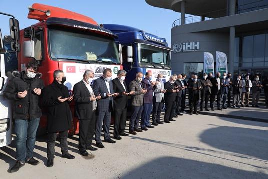 Bursa'dan Suriye'ye kardeşlik konvoyu