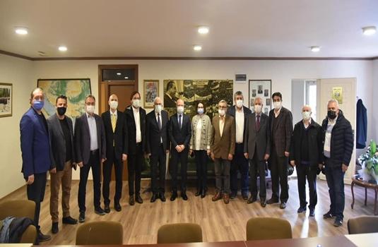 Davut Gürkan'dan BAL-GÖÇ'e ziyaret