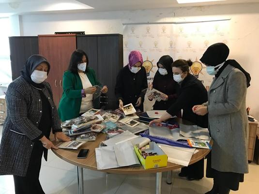 AK Parti Bursa İl Kadın Kolları, Sevgi Evini ziyaret etti