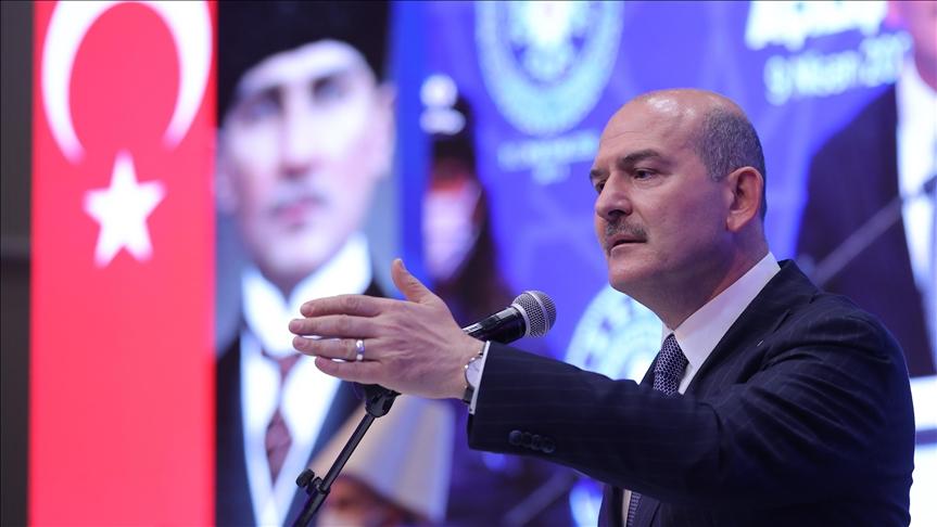 Bakan Soylu Polis Teşkilatı'nın 176. kuruluş yıl dönümünü kutladı