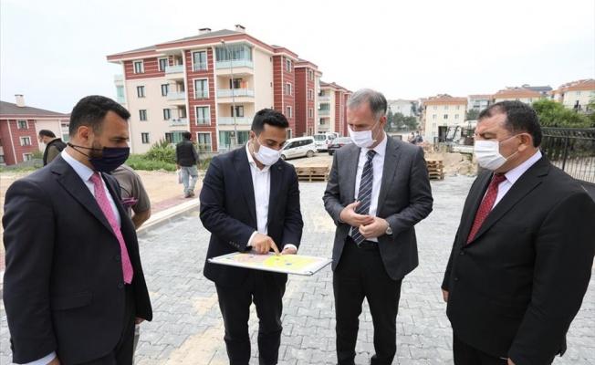 Yeni Mahalle Sokakları 'Sil Baştan Yenileniyor'