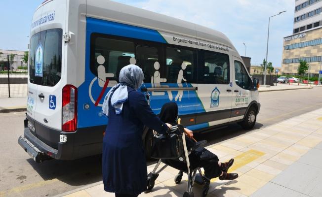 Engelli Ve Yaşlılara Ulaşımda 'Yıldırım' Destek