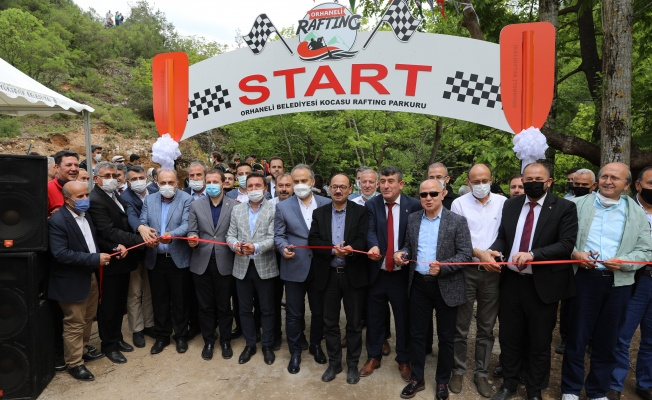 Marmara'nın rafting parkuru Orhaneli'de açıldı