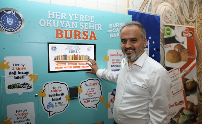 Bursalılar metroda hem okuyacak hem kazanacak
