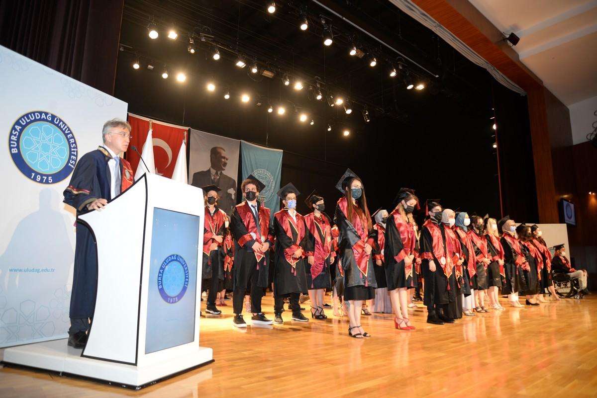 Veteriner hekimlerin mezuniyet heyecanı