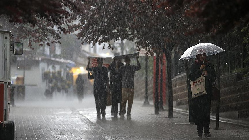 Meteoroloji'den bazı bölgeler için kuvvetli yağış uyarısı