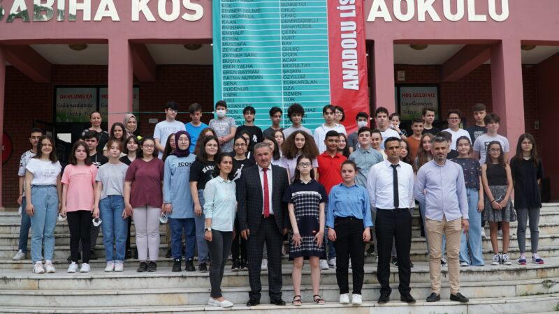 Sabiha Köstem Ortaokulu'ndan müthiş başarı