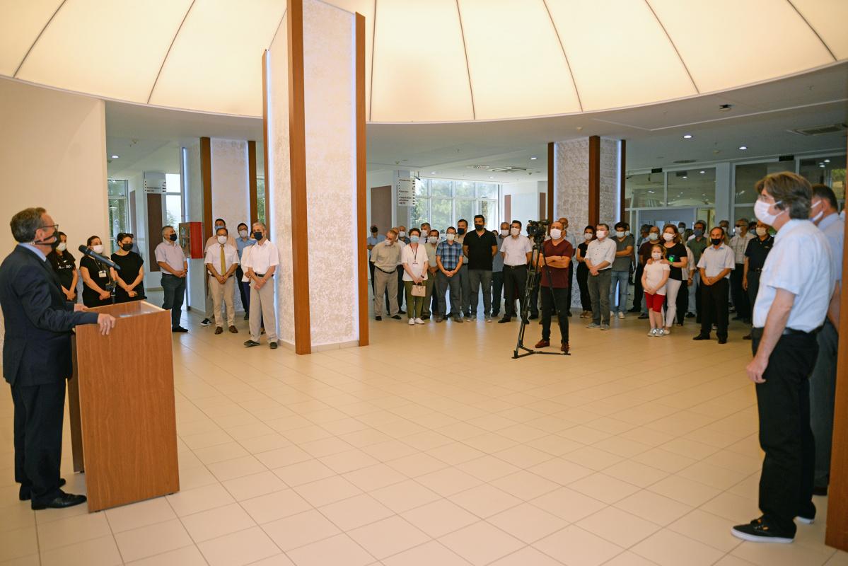 Bursa Uludağ Üniversitesi ailesi bayramlaştı