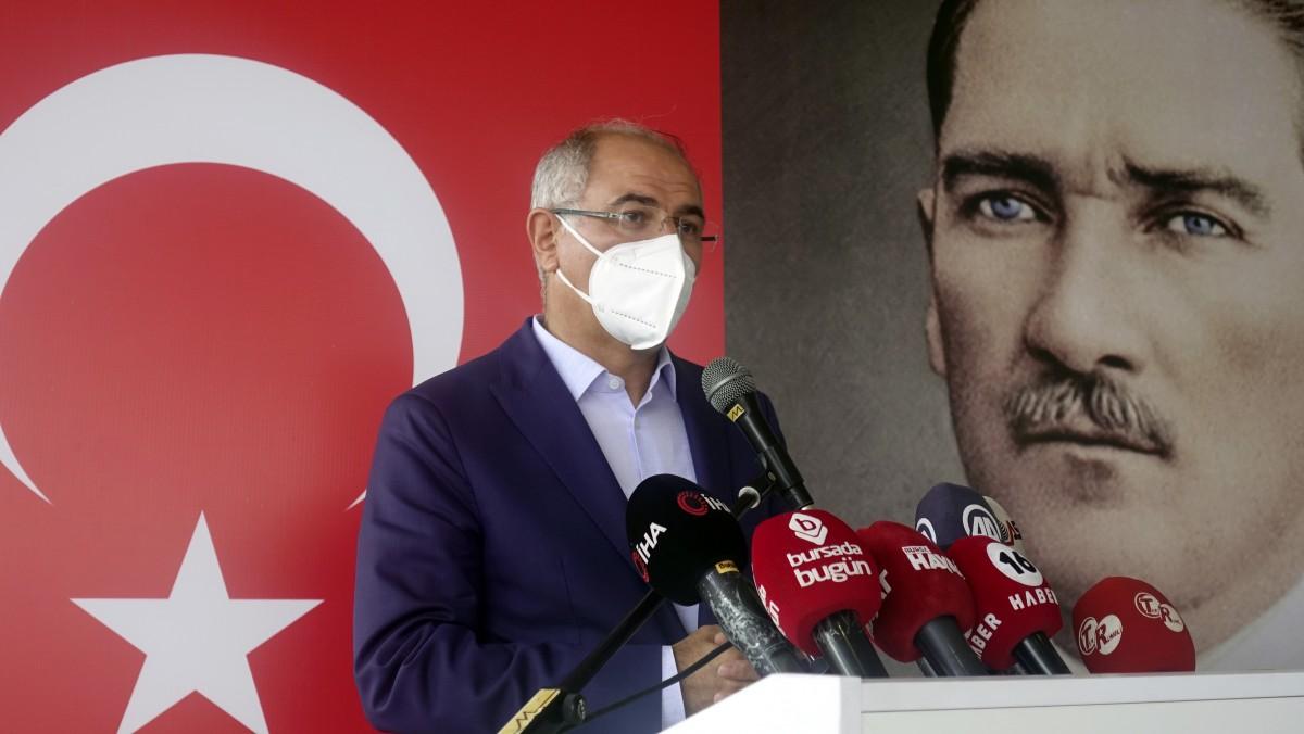 Efkan Ala, Bursa'da Ak Parti'nin bayramlaşma töreninde konuştu