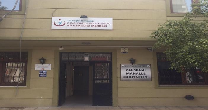 Bursa Alemdar sağlık ocağında skandal!