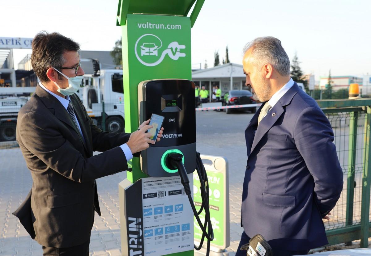 Türkiye'nin elektrikli otomobil başkenti; Bursa