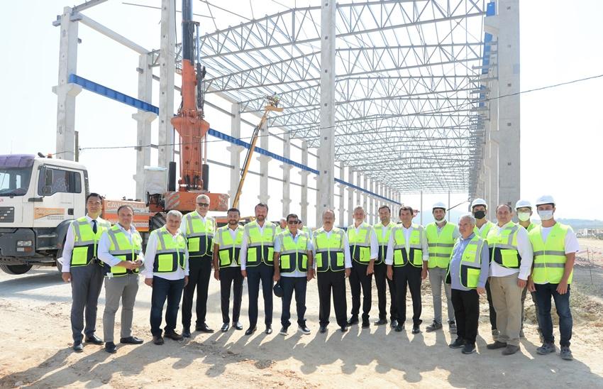 TEKNOSAB'da Fabrikalar Hızla Yükseliyor