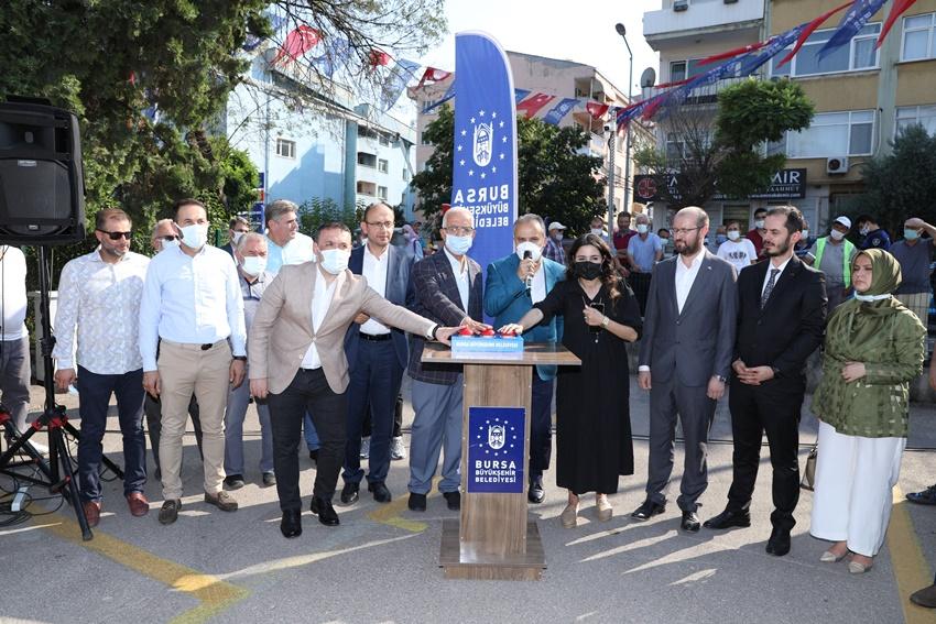 Bursa Büyükşehir Belediyesi'nden Mudanya'ya aile destek merkezi
