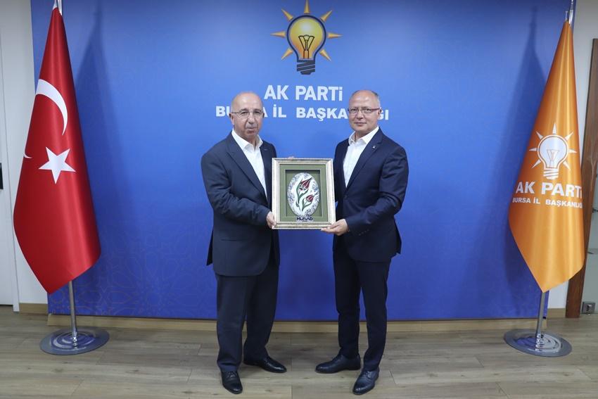 MÜSİAD Bursa'dan Ak Parti'ye ziyaret