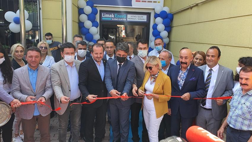 Limak Enerji'nin 102. işlem merkezi Osmangazi'de hizmete başladı