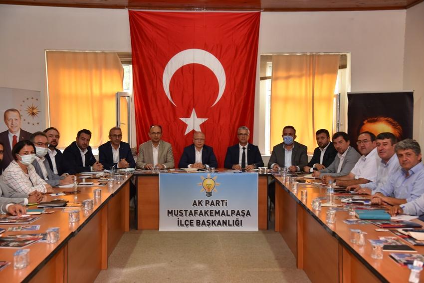 """Davut Gürkan: """"Bursa'nın zenginliklerini geleceğe taşımak için çalışıyoruz"""""""