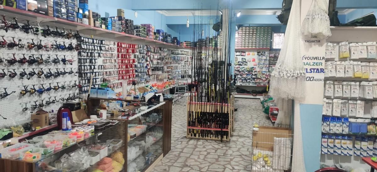 Alemdar Mahallesinde Nilüfer Balık Av Malzemeleri mağazası açıldı