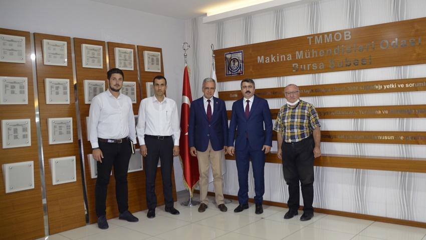 Yıldırım Belediyesi'nden TMMOB MMO Bursa Şubesi'ne Ziyaret