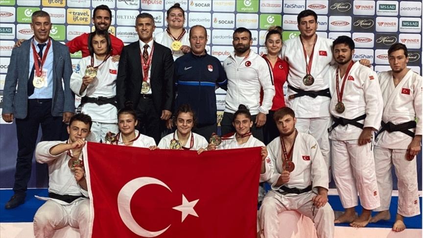 Türkiye, karma takım müsabakalarında bronz madalya kazandı