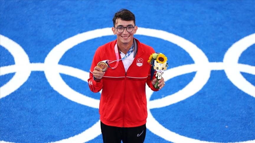 Türkiye 94. olimpiyat madalyasını Mete Gazoz ile kazandı