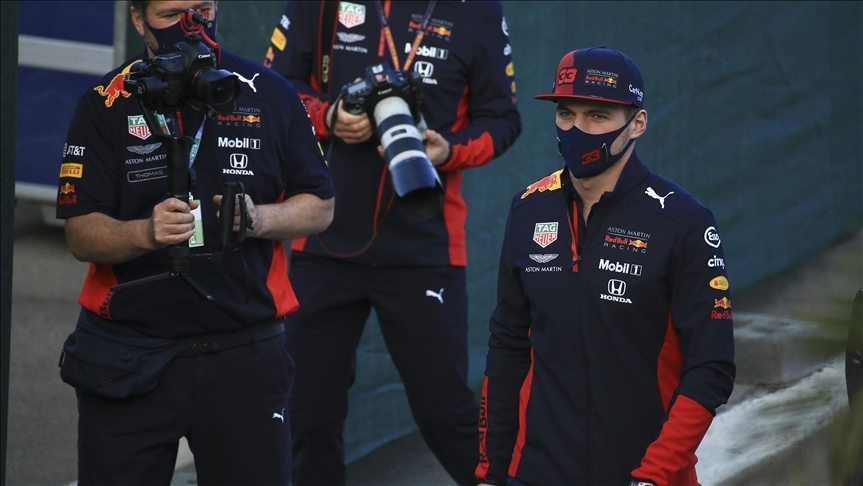 Red Bull pilotu Verstappen taburcu edildi
