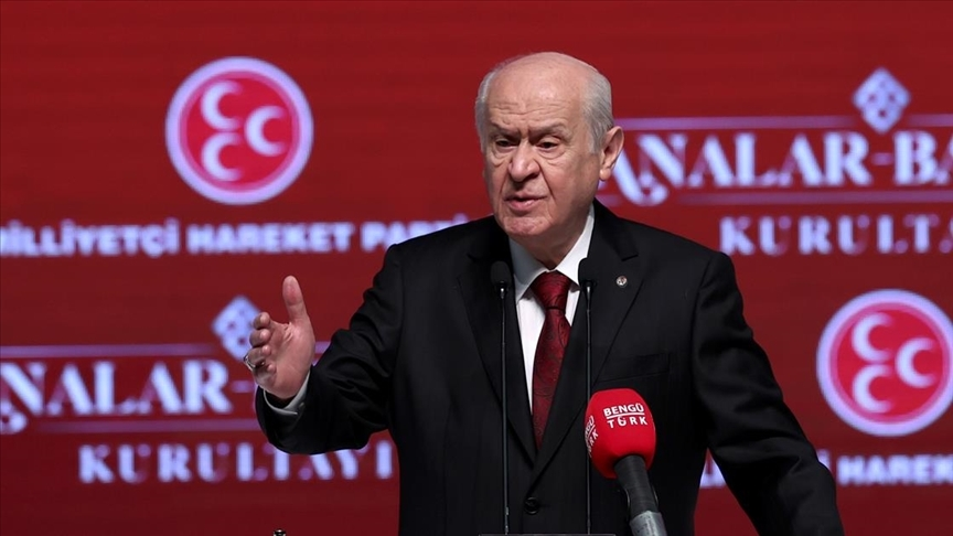 MHP Genel Başkanı Bahçeli: Kadına şiddet sorunu çözülmeden hayat bize zindan