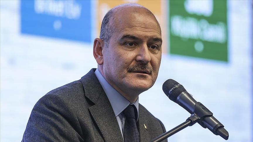 İçişleri Bakanı Süleyman Soylu duyurdu: Dev uyuşturucu ...