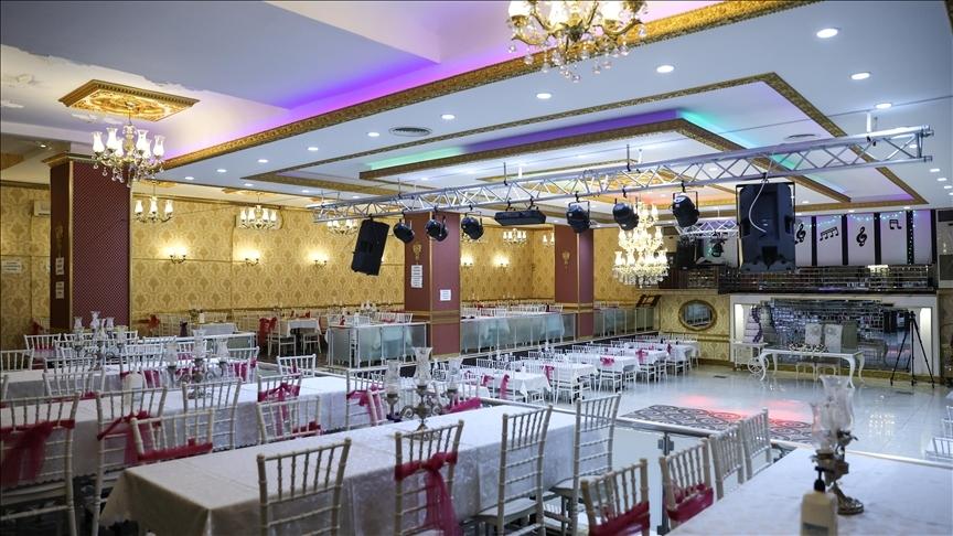Kısıtlamaların kaldırılmasıyla düğün salonlarında doluluk yüzde 80'i buldu