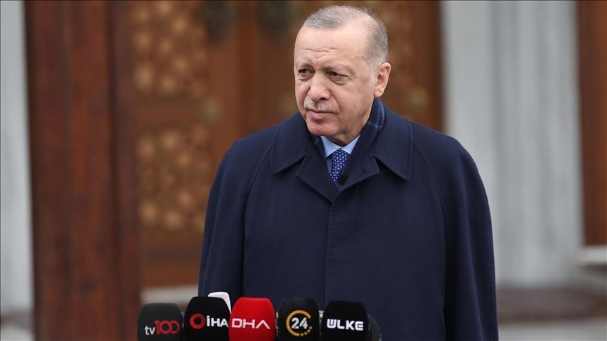 Cumhurbaşkanı Erdoğan: Temenni ederiz ki mayıs, haziran gibi bu iş tamamlansın