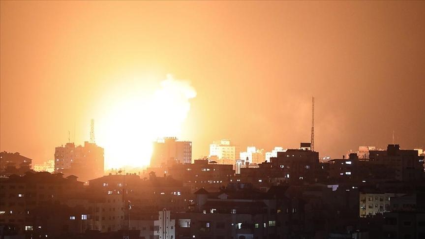 İsrail, Gazze Şeridi'ne hava saldırısı düzenledi