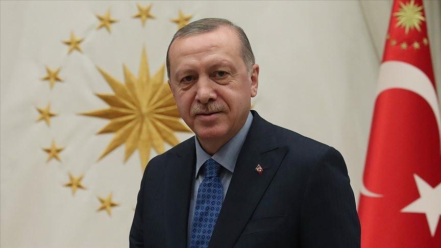 Cumhurbaşkanı Erdoğan A Milli Kadın Voleybol Takımı'na başarı dileklerini iletti