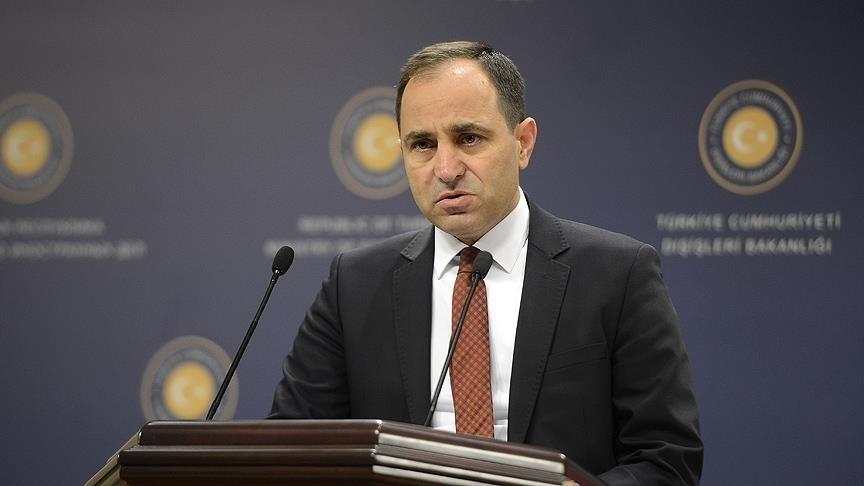 Sözcü Bilgiç: Avusturya İçişleri Bakanı'nın, ülkemiz ve Cumhurbaşkanımız hakkındaki beyanlarını kınıyoruz