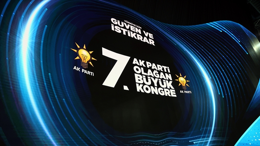 AK Parti'de büyük kongre heyecanı   CANLI