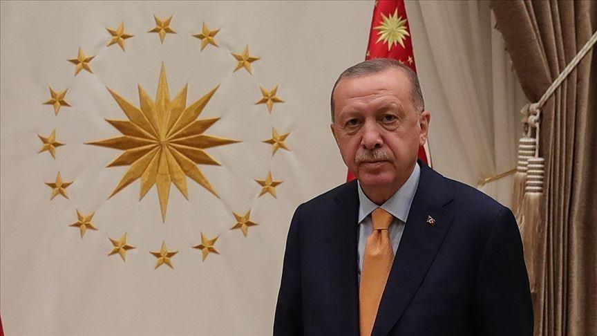 Erdoğan şehit ailelerine başsağlığı mesajı gönderdi