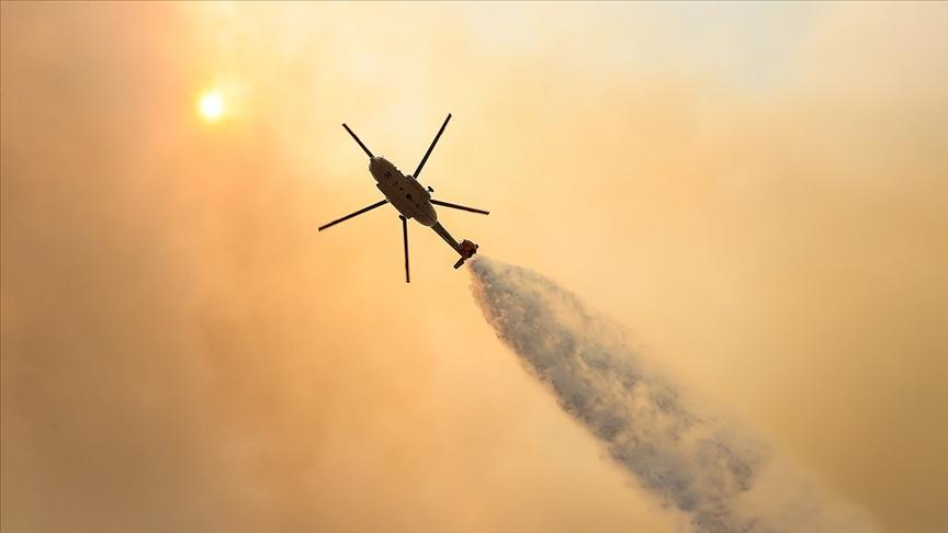 Türkiye'deki orman yangınları özverili çalışmalarla kontrol altına alınıyor