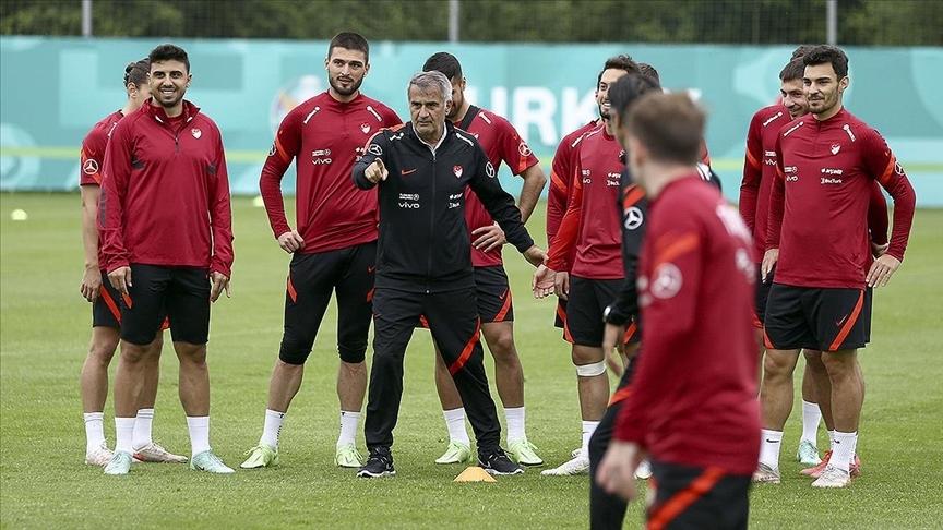 A Milli Futbol Takımı Almanya'daki hazırlıklarını sürdürüyor