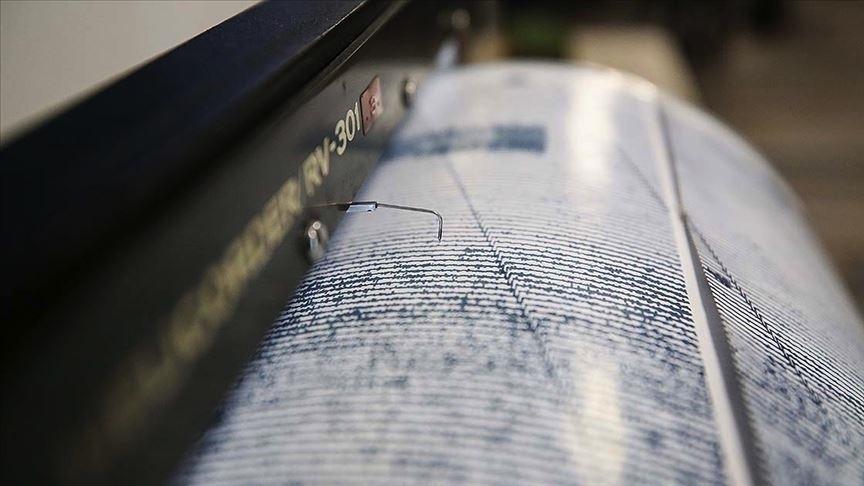 Ege Denizi'nde 4 büyüklüğünde deprem