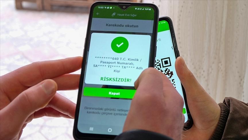 HES uygulamasına 'AB Uyumlu Sağlık Pasaportu' butonu eklendi