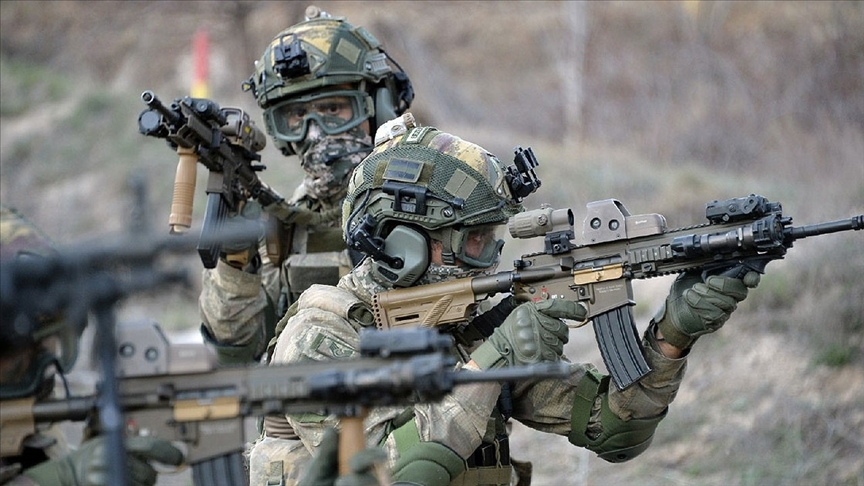 Zeytin Dalı Harekat bölgesine saldırı hazırlığındaki 2 terörist etkisiz hale getirildi