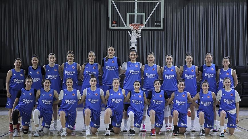 A Milli Kadın Basketbol Takımı'nda Avrupa Şampiyonası hazırlıkları devam ediyor