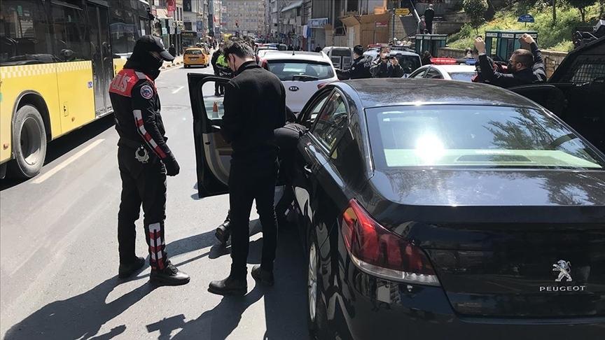 'Yeditepe Huzur' asayiş uygulamasında aranan 501 kişi yakalandı