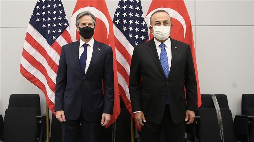 Dışişleri Bakanı Çavuşoğlu, ABD'li mevkidaşı Blinken'la görüştü