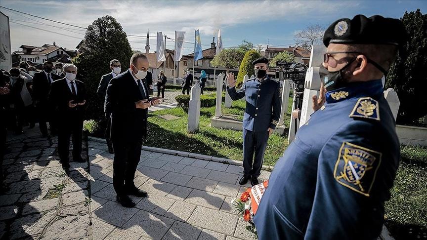 Dışişleri Bakanı Çavuşoğlu, Saraybosna'daki temaslarına başladı