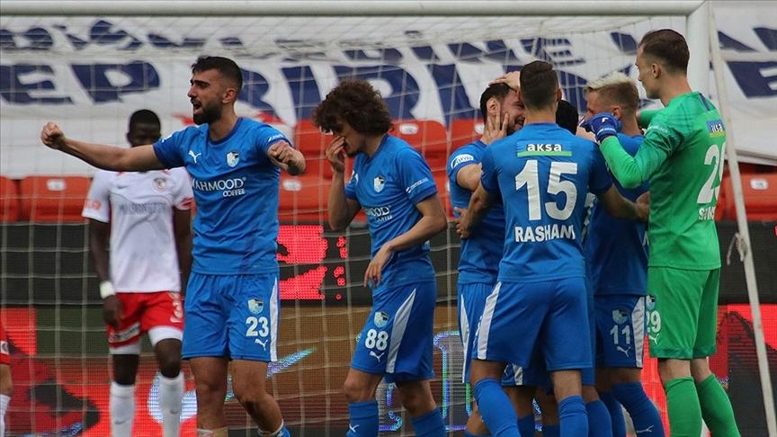 Erzurumspor deplasmanda kazandı